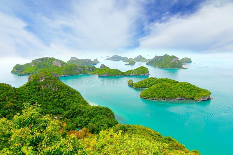 Spiaggia tropicale - Langkawi KOH Samui, Tailandia fotografia stock libera da diritti