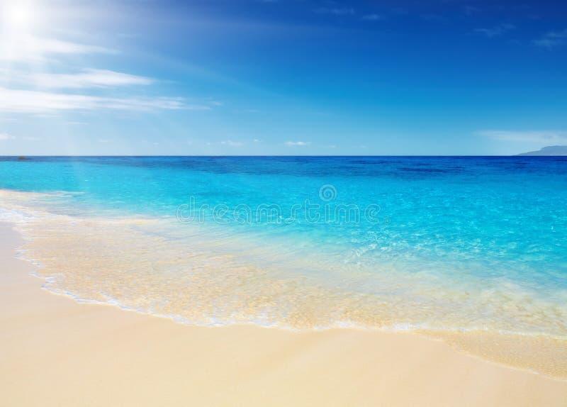 Spiaggia tropicale Tailandia fotografie stock