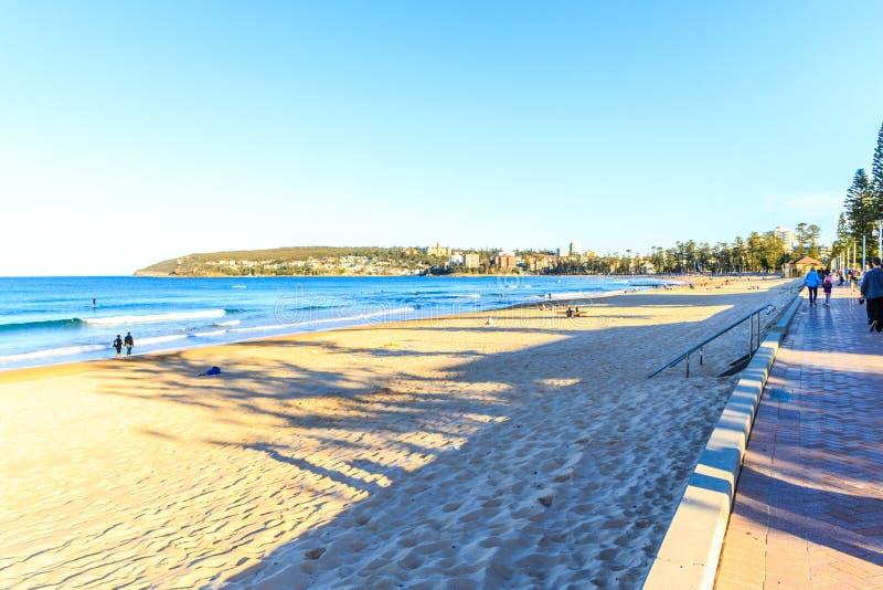 Spiaggia virile, Nuovo Galles del Sud immagine stock libera da diritti