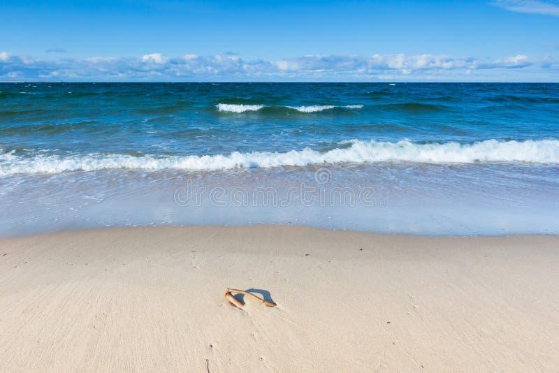 Spiaggia vulcanica dell'Hawai Litorale baltico fotografie stock