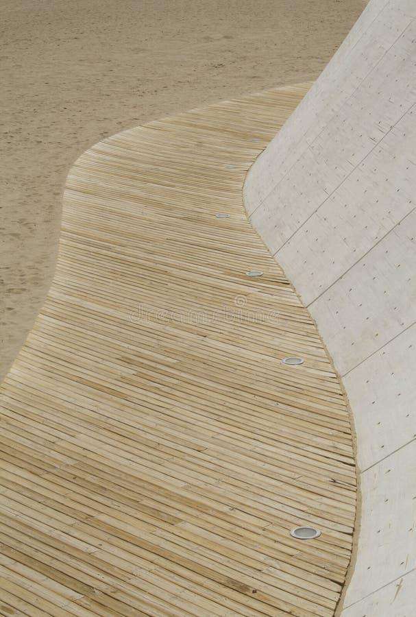 Spiaggia walkwsy immagine stock