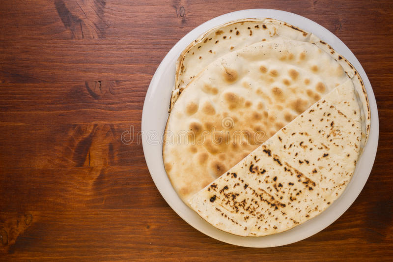 Spianata sarda. A typical bread of sardinia island stock image