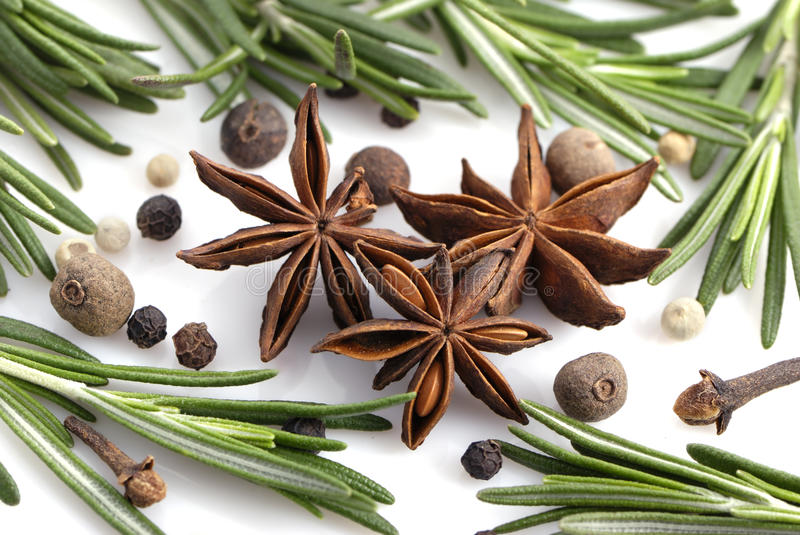 Spice background royalty free stock photography