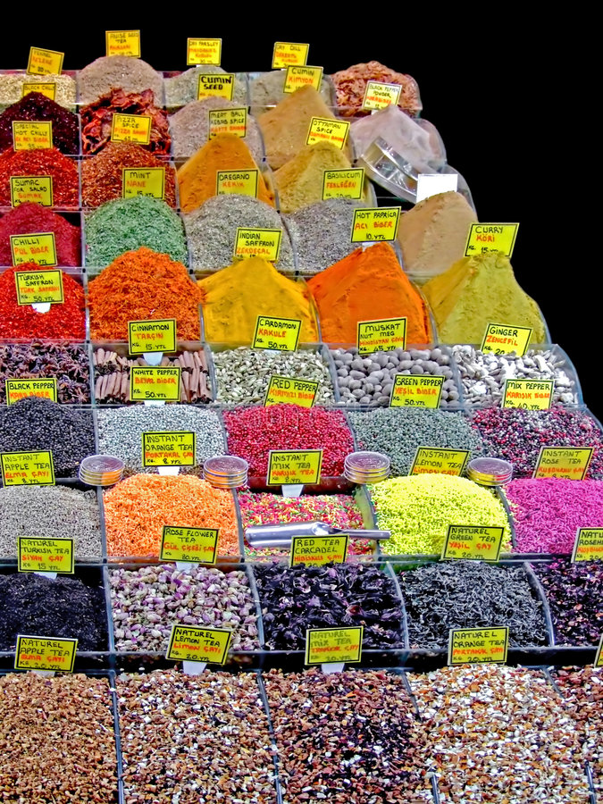Download Spice bazaar stock image. Image of place, oregano, asian - 2315449
