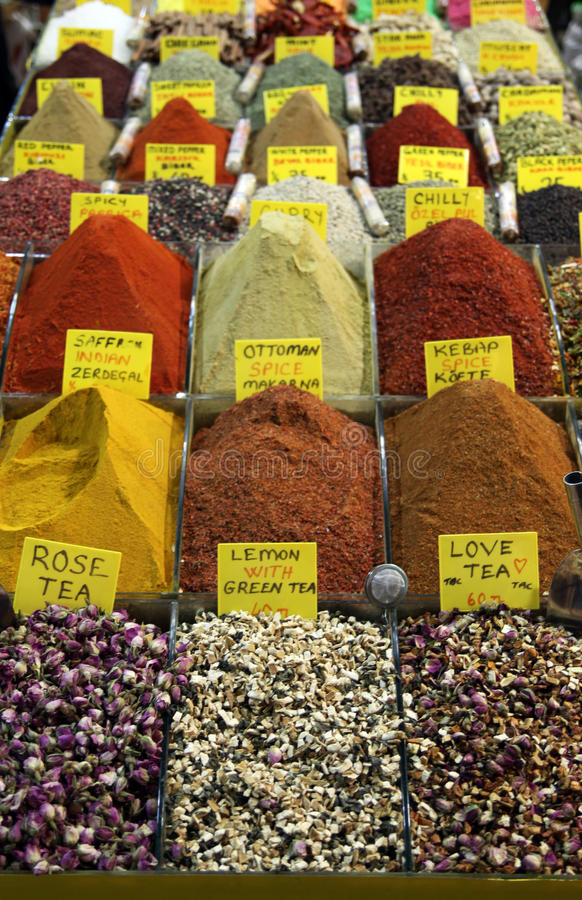 Download Spice Bazaar In Istanbul. Royalty Free Stock Photography - Image: 16830487