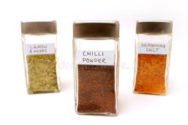 Download Spice bottles 2 stock photo. Image of cooking, seasonings - 155380