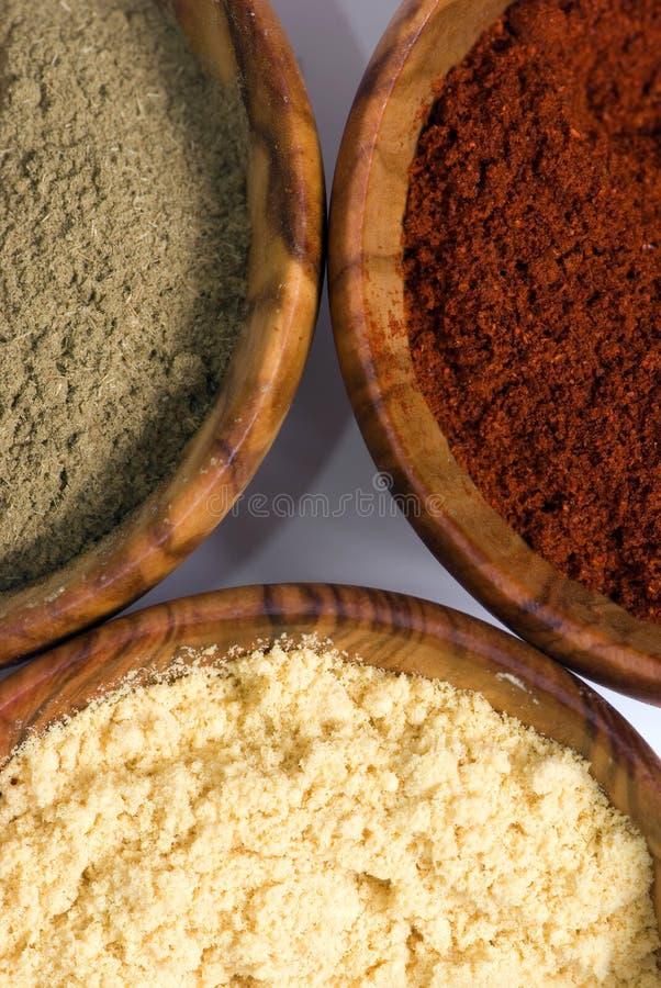 Free Spice Bowls 3 Stock Photo - 1602250