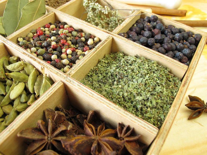 Download Spice box stock image. Image of smell, laurel, castes - 22645687