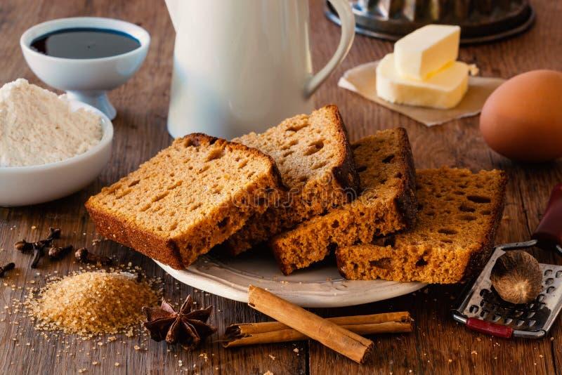 Spice bread royalty free stock photos