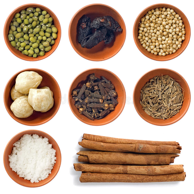Spice Collection Stock Images
