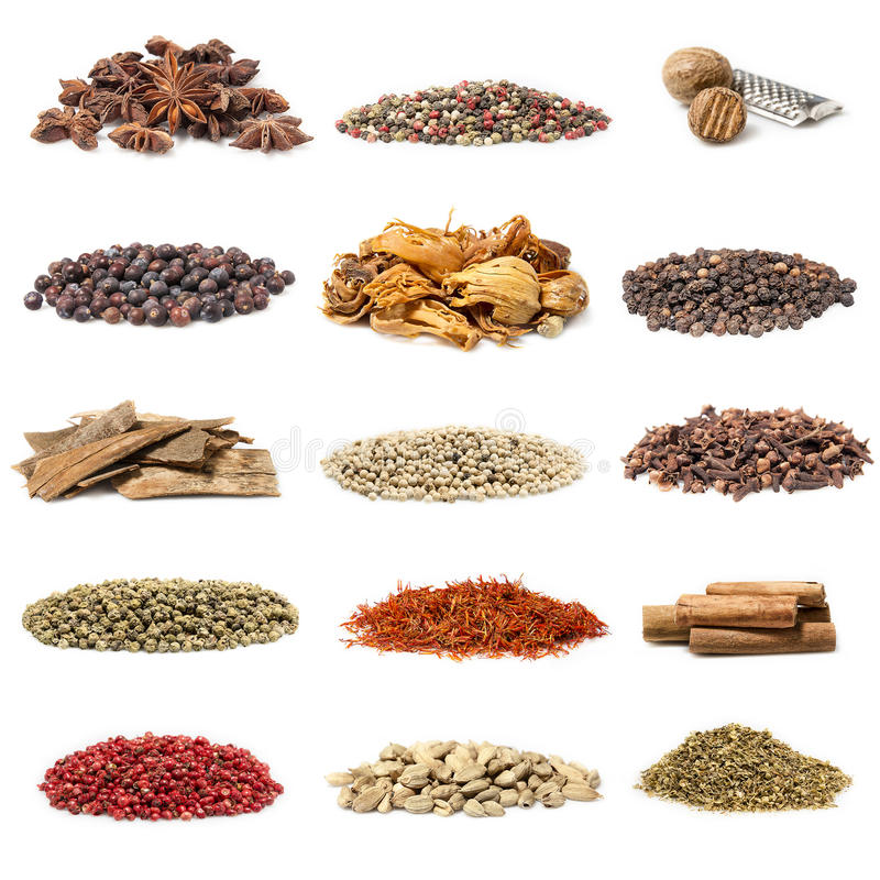 Free Spice Collection Royalty Free Stock Image - 39297926