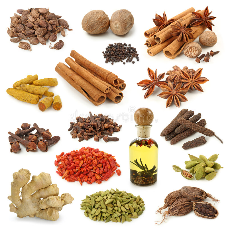 Free Spice Collection Stock Photos - 7543153
