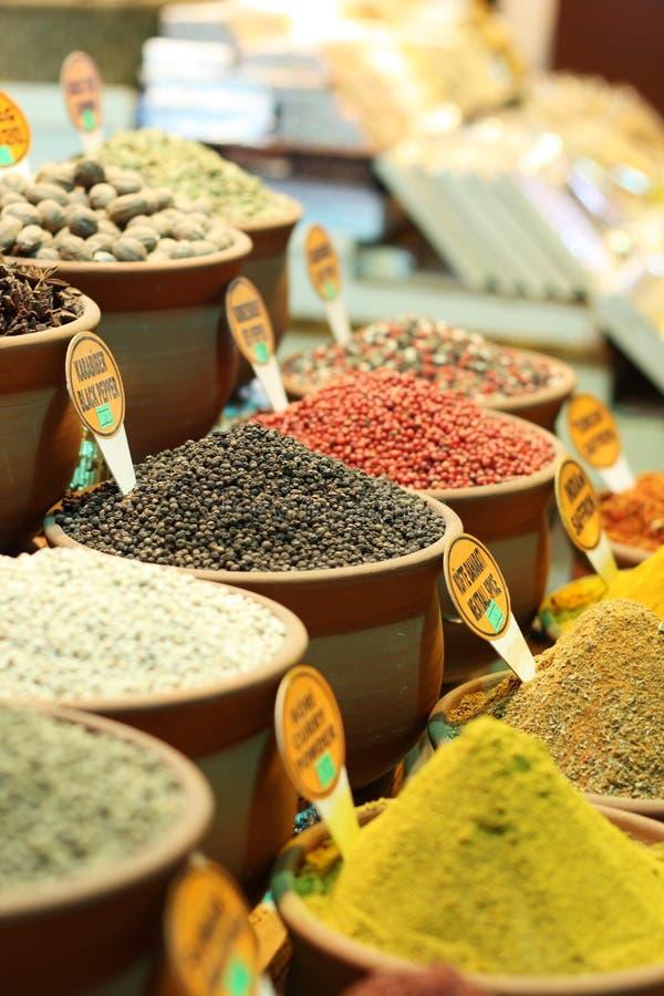 Spice of Egyptian bazaar of spice stock photo