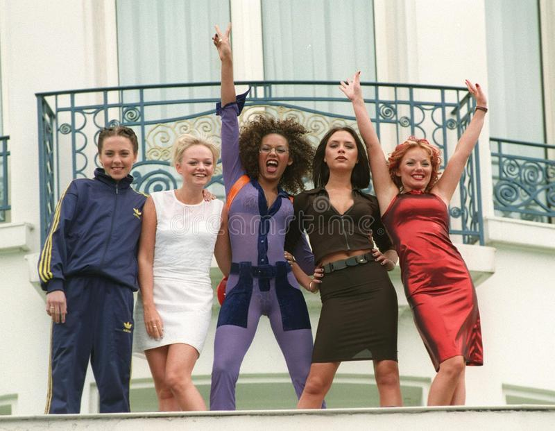 Download Spice Girls editorial stock photo. Image of cannes, spice - 27214043