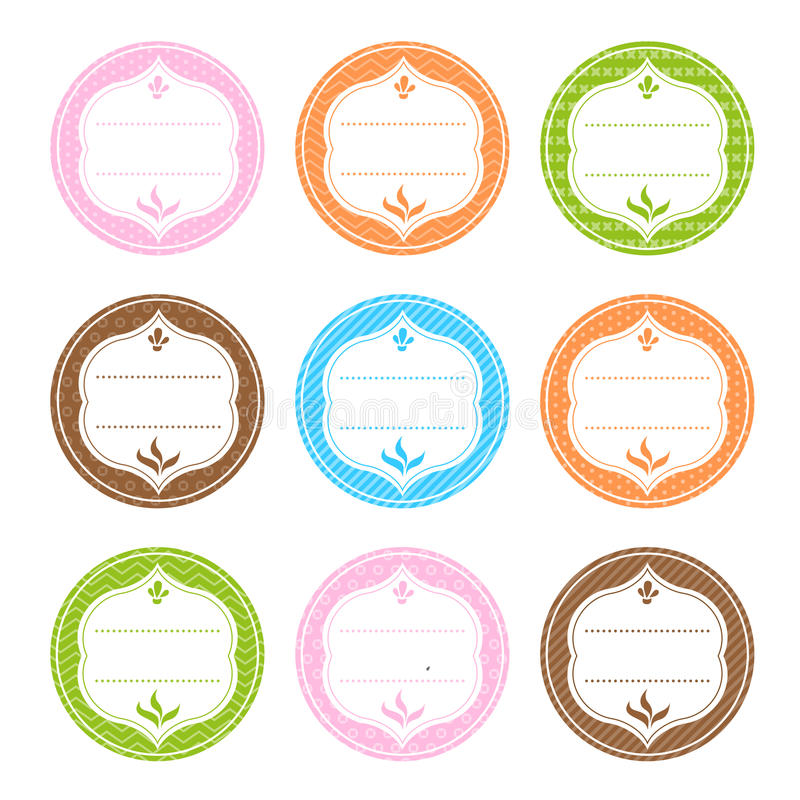 Download Spice Labels stock vector. Image of basil, cinnamon, herb - 31027141