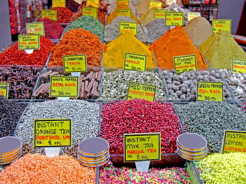 Download Spice market detail stock photo. Image of india, arabic - 2315470