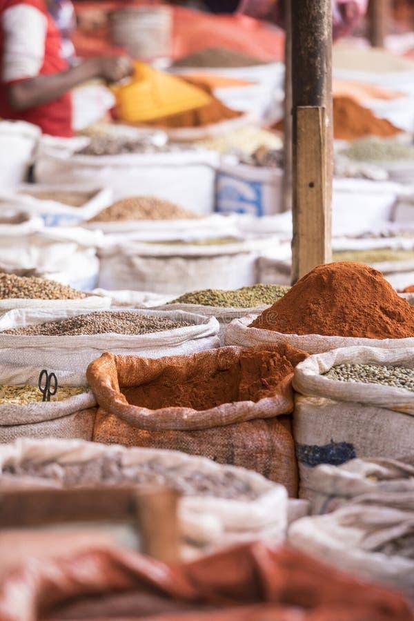 Spice market in Ethiopia stock photos