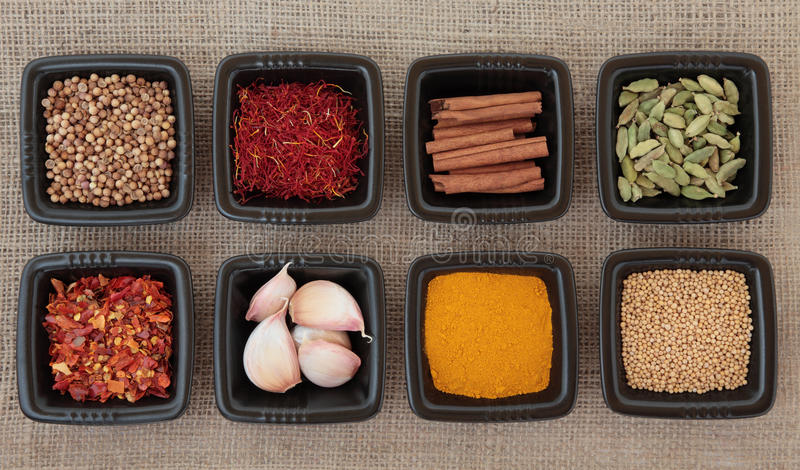 Download Spice Sampler stock image. Image of curry, collection - 24021201