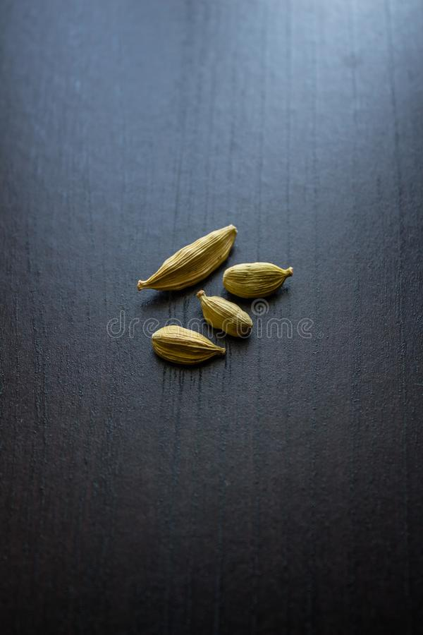 Cardamom. Spice, spice, seasoning. Kitchen. Food. Cook at home. royalty free stock image