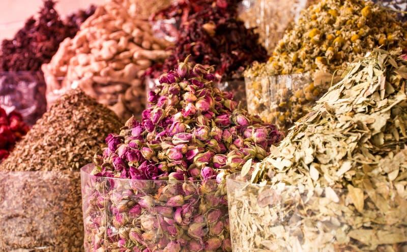 Spice Souk Dubai stock image