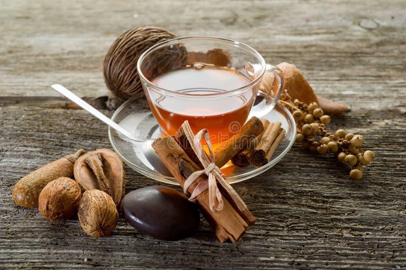 spiced чай стоковые фотографии rf