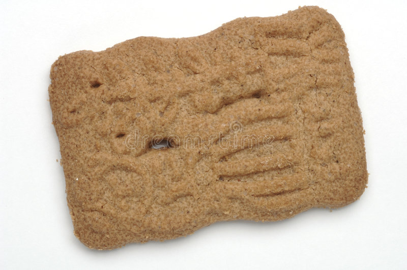 Spiced biscuit stock image