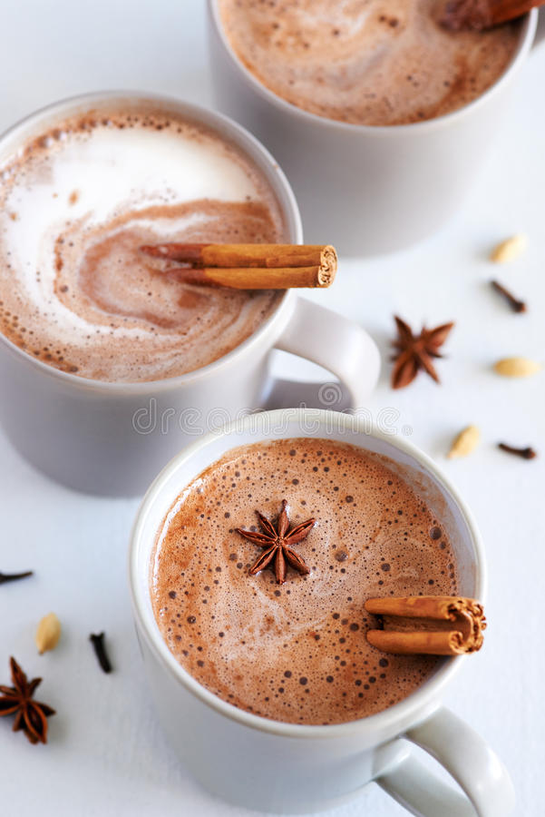 Free Spiced Chai Latte Royalty Free Stock Photos - 58036598