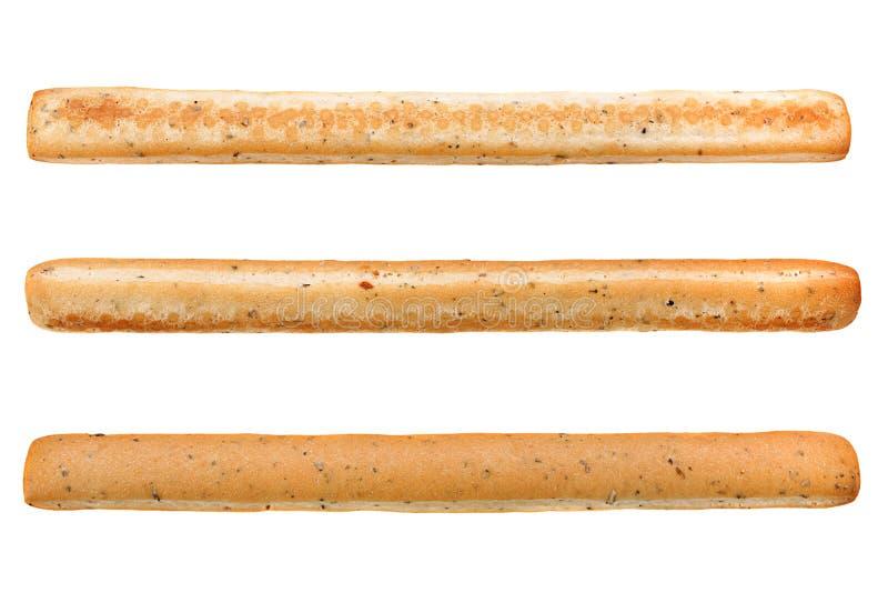 Spiced chlebowy kij na bielu obrazy stock
