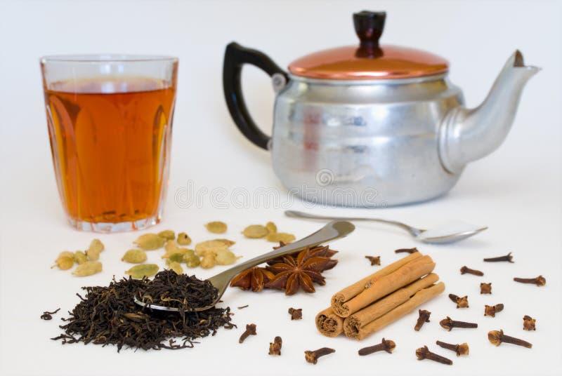 spiced herbaty. obraz royalty free