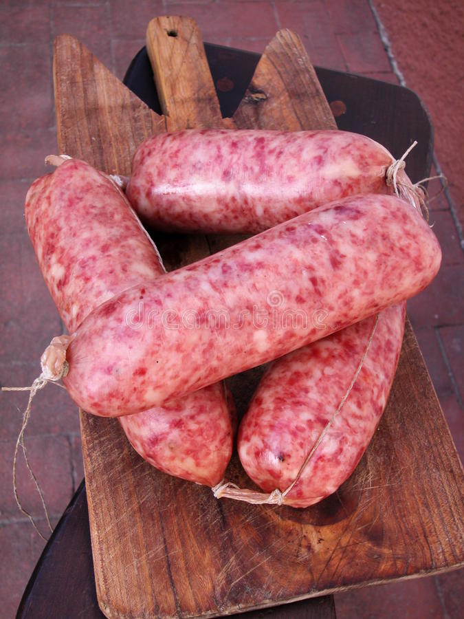 Download Spiced sausage cotechino stock image. Image of sausage - 10277715