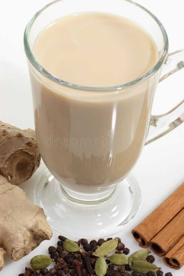 Spiced tea stock images