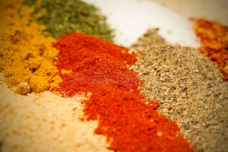 spices различное стоковая фотография rf