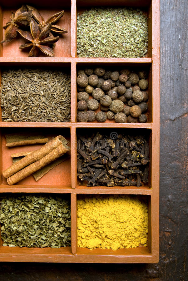 Download Spices Stock Image - Image: 10635391