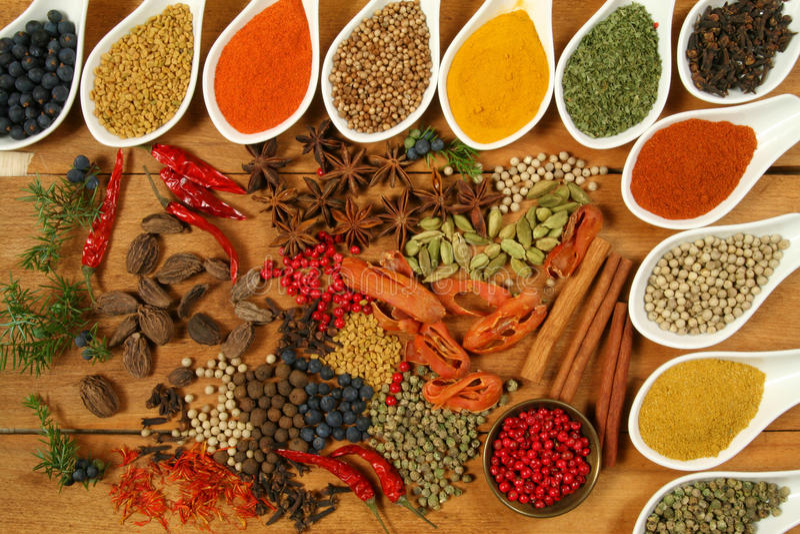 Spices. stock photo