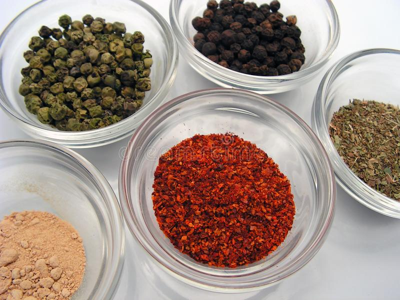Spices stock image