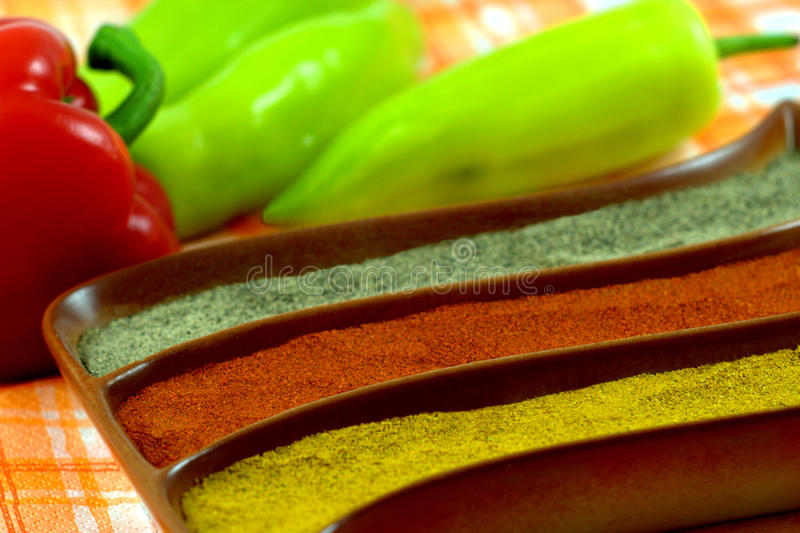 Download Spices stock image. Image of brown, flavor, crushed, ceramicasian - 21623489