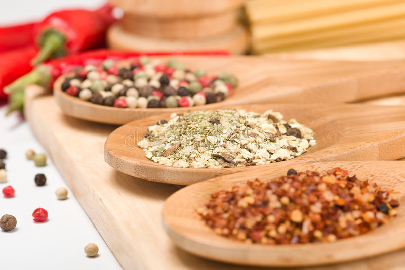Download Spices stock image. Image of curry, salt, market, brown - 23977445