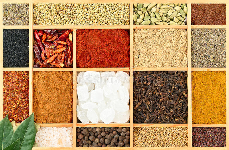Download Spices Royalty Free Stock Photos - Image: 26320338