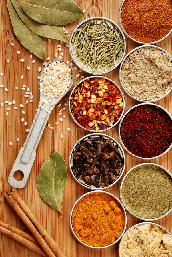 Download Spices stock photo. Image of green, dill, chili, colorful - 4078672
