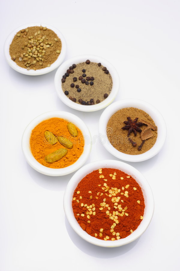 Spices stock images