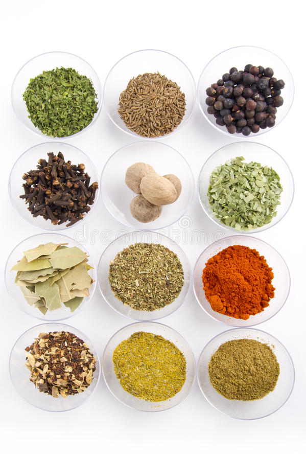 Download Spices assortment stock photo. Image of nutmeg, pepper - 24235446