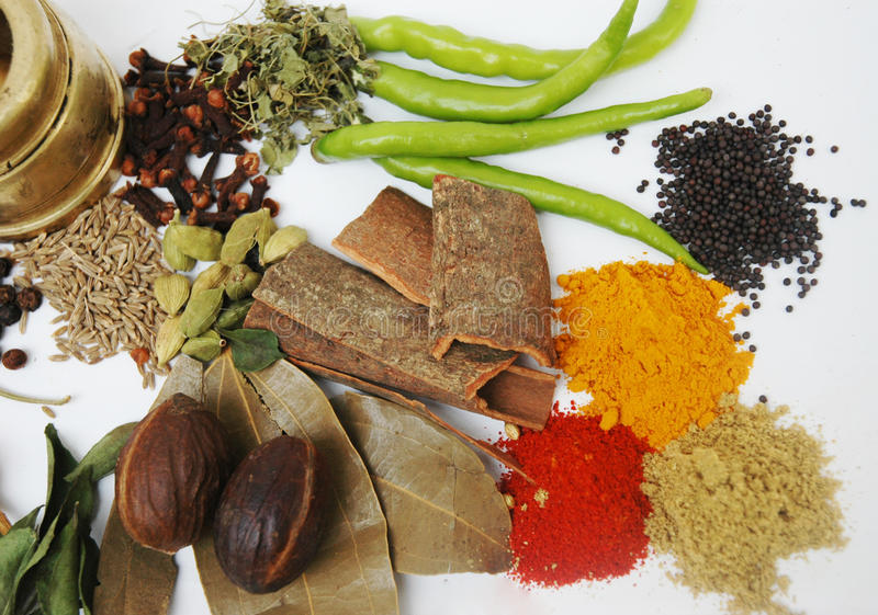 Spices Background royalty free stock image