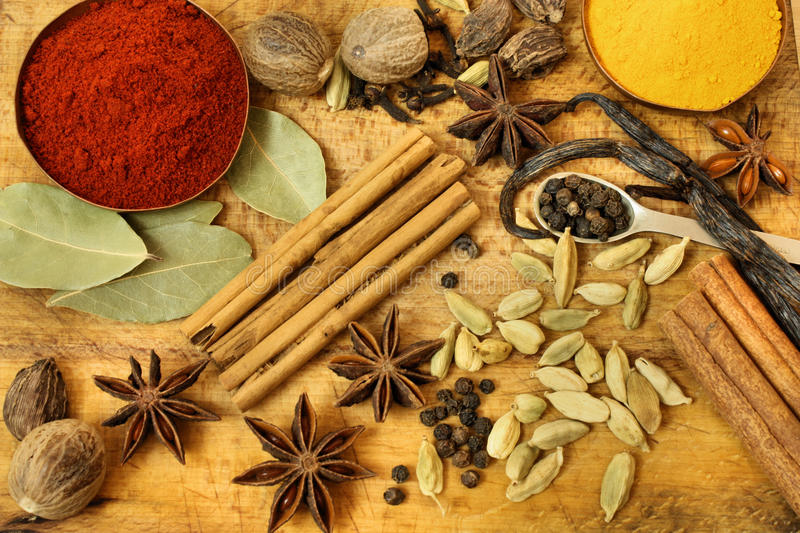 Download Spices Background Stock Photos - Image: 21519683