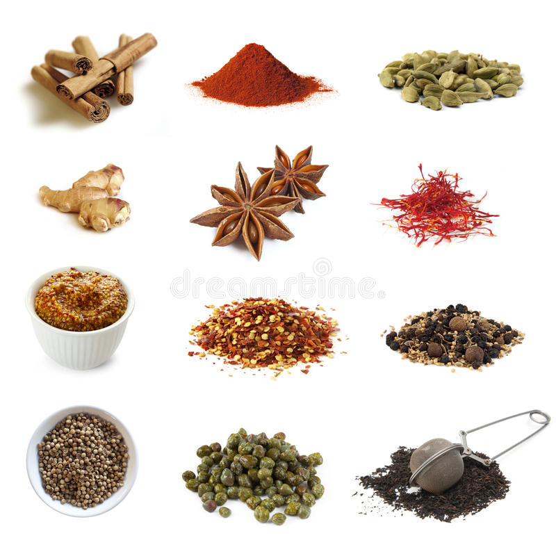 Download Spices Collection stock photo. Image of anise, cardamom - 14828352