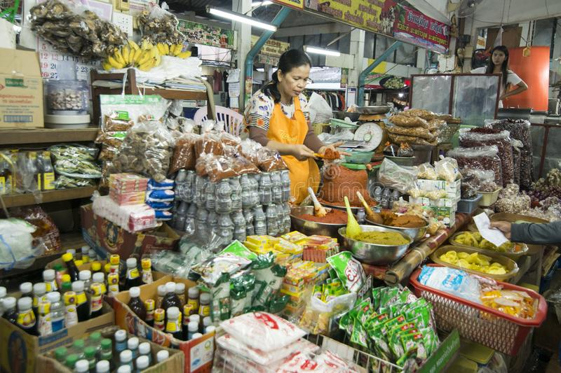 THAILAND BURIRAM MARKET stock photos