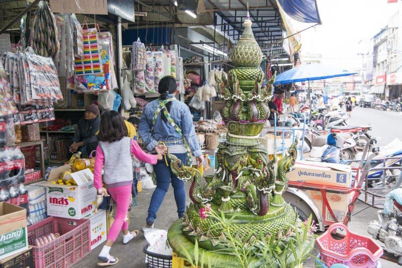 THAILAND BURIRAM MARKET royalty free stock image