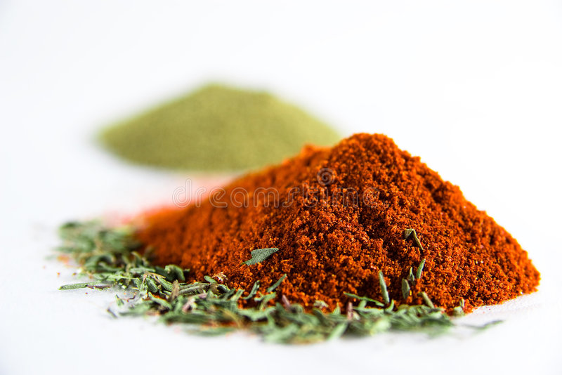 Spices II stock image