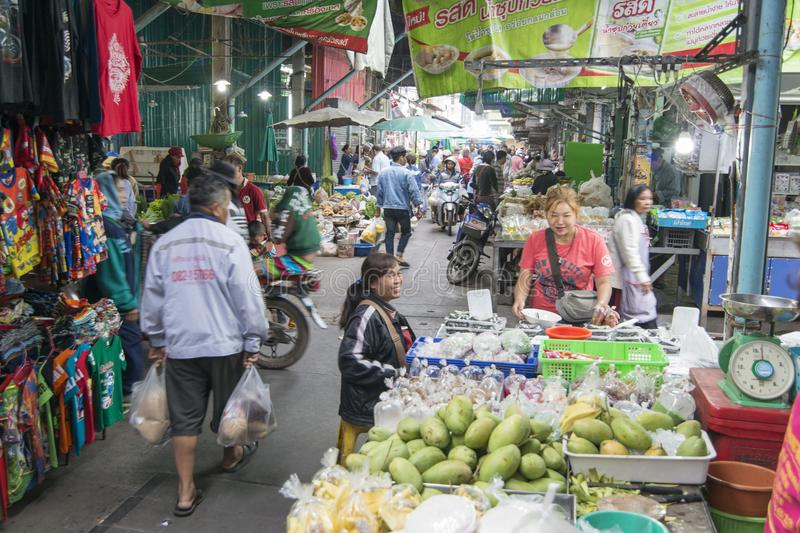THAILAND BURIRAM MARKET royalty free stock images