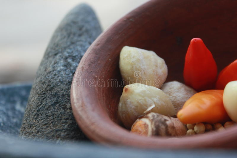 Spices (rempah). Indonesian traditional Flavor use near in all indonesian food royalty free stock photography