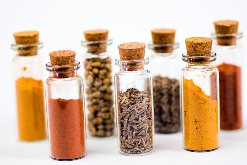 Spices series stock photography